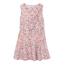 French connection - Girls' pink floral print dress