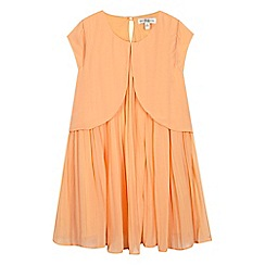 French connection - Girls' orange pleated dress