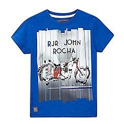 RJR.John Rocha - Boys' blue motorbike print t-shirt