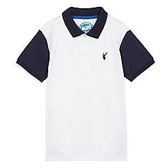 bluezoo - Boy's white polo shirt