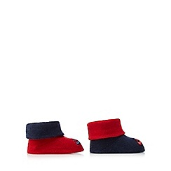 Nike - Baby boys' set of two red and navy booties