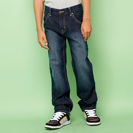 bluezoo - Boy+s light blue straight leg basic jeans