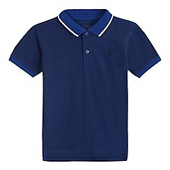 bluezoo - Boys' dark blue polo shirt