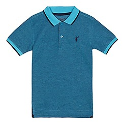bluezoo - Boys' turquoise polo shirt