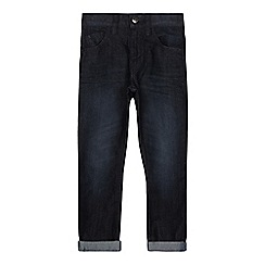 bluezoo - Boys' dark blue mid wash jeans
