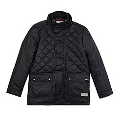 J by Jasper Conran - Boys' black quilted jacket