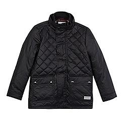 J by Jasper Conran - Boys' black quilted jacket
