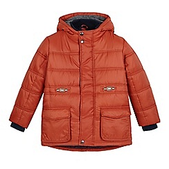 bluezoo - Boys' orange padded jacket