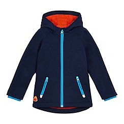 Mantaray - Boys' navy soft shell jacket