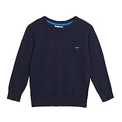 bluezoo - Boys' navy crew neck jumper