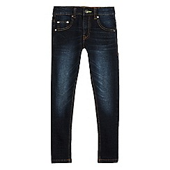 bluezoo - Boys' dark blue superskinny jeans