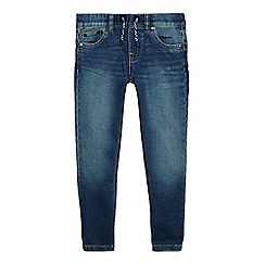 bluezoo - Boys' blue mid wash jogger jeans