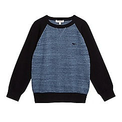 bluezoo - Boys' blue raglan jumper
