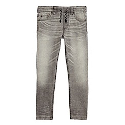 bluezoo - Boys' grey whiskered jogger jeans
