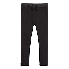 bluezoo - Boys' black slim fit chinos
