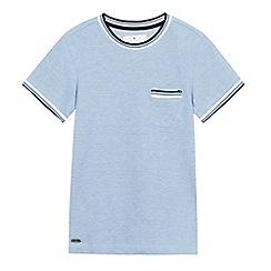 J by Jasper Conran - Boys' blue patch pocket t-shirt