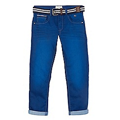 J by Jasper Conran - Boys' blue slim belted jeans