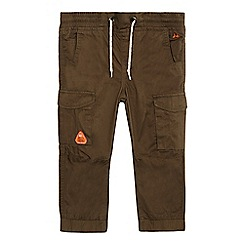 Mantaray - Boys' khaki cargo trousers