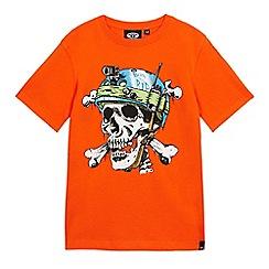 Animal - Boys' orange print t-shirt