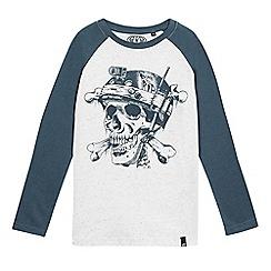 Animal - Boys' white print t-shirt