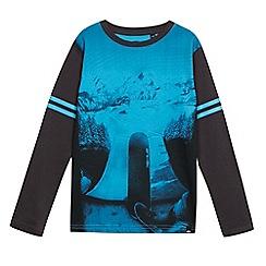 Animal - Boys' navy print t-shirt