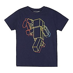 Minecraft - Boys' navy 'Minecraft' t-shirt