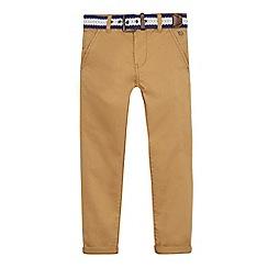 J by Jasper Conran - Boys' beige belted corduroy trousers