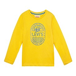 Levi's - Boys' logo print long sleeved top