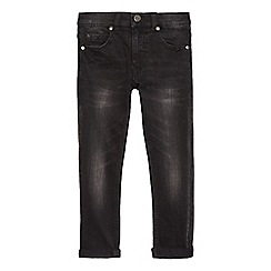 bluezoo - Boys' black mid wash jeans