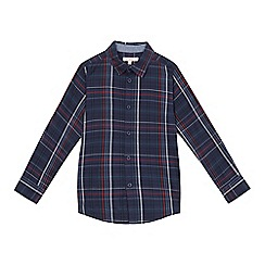 bluezoo - Boys' blue checked shirt