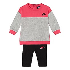 Nike - Girls' black colour block tunic
