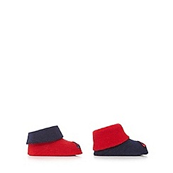 Nike - Baby boys' red and navy booties
