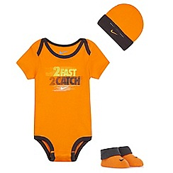 Nike - Baby boys' orange three piece set