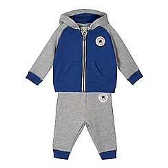 Converse - Baby boys' grey hoodie and trousers set