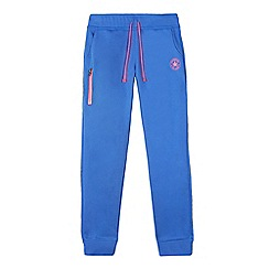 Converse - Girls' blue jogging bottoms