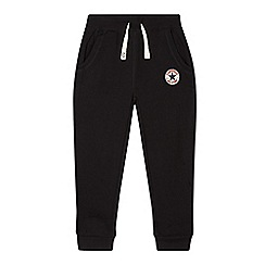 Converse - Boys' black Converse jogging bottoms