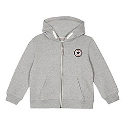 Converse - Boys' grey Converse hoodie