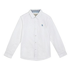 Original Penguin - Boys' white Oxford shirt