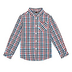 Ben Sherman - Boys' multi-coloured checked shirt