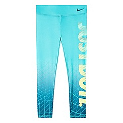 Nike - Girls' green sport capri pants