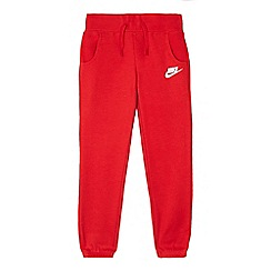 Nike - Boys' red jogging bottoms