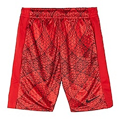 Nike - Boys' red dry fabric shorts