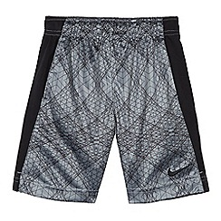 Nike - Boys' grey Dri-Fit ' Dry' graphic shorts