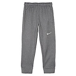Nike - Boys' grey Nike Dri-Fit 'Therma' jogging bottoms