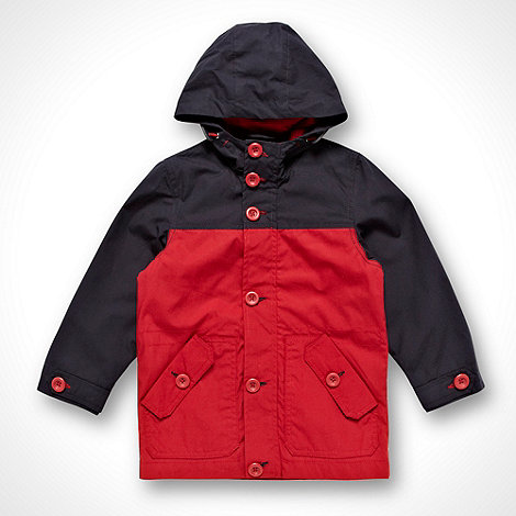 bluezoo - Boy+s dark red block jacket