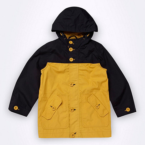 bluezoo - Boy+s tan fisherman+s rain jacket