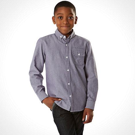 bluezoo - Boy+s grey long sleeved shirt