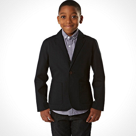 bluezoo - Boy's navy smart blazer