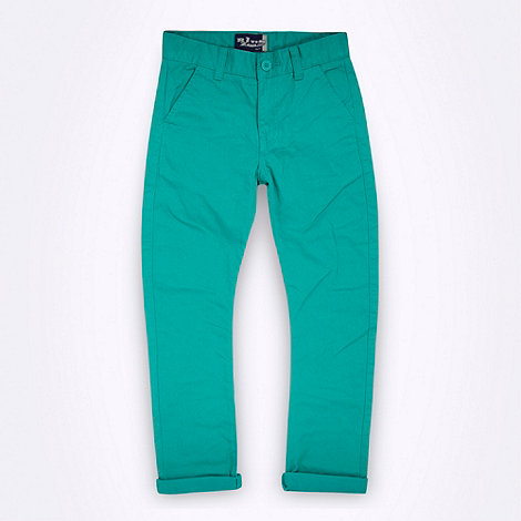 bluezoo - Boy+s light green chinos