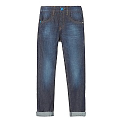 bluezoo - Boys' dark blue slim jeans
